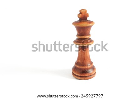 king from black set (chess)