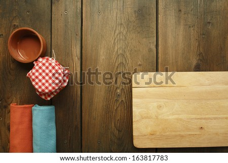 Kitchen Table Background kitchen tablecookbook background old wooden kitchen stock photo