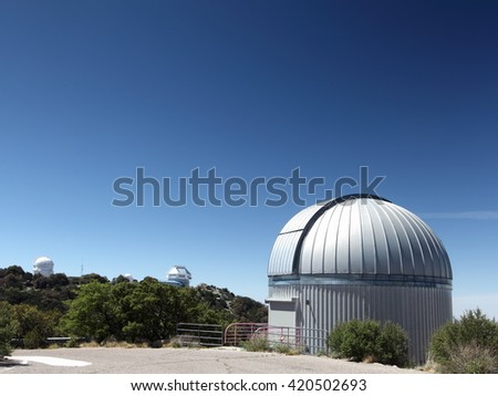 Kitt Peak National Observatory in Tucson, AZ