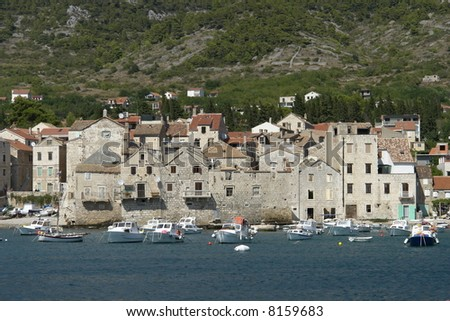 Komiza on Island Vis