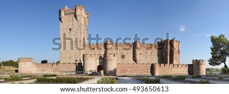La Mota Castle in Medina del Campo, Spain