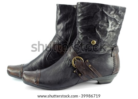 Lady leather boots
