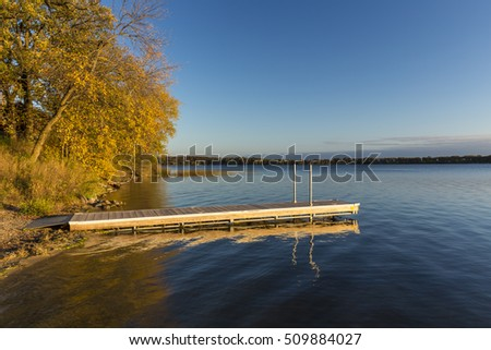 Lake Andrew In Autumn