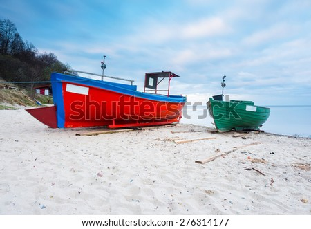 Tien giang province vietnam oct 5 stock photo 229280854 for Long beach fishing boat