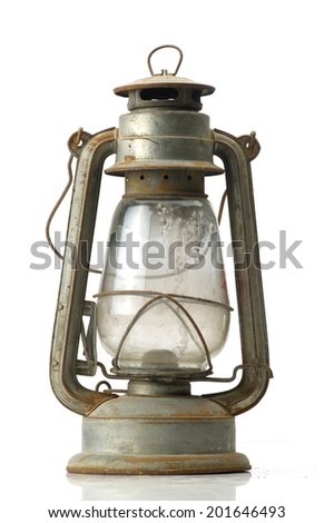 Lantern Isolated, Ramadan Lamp Concept