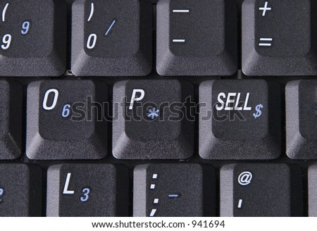 "Laptop compputer with ""sell"" key"