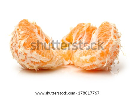 Large ugly fruit on a white background
