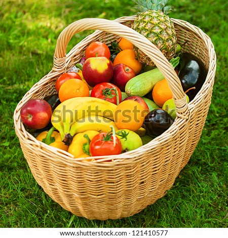 fruit baskets are tomatoes vegetables or fruits