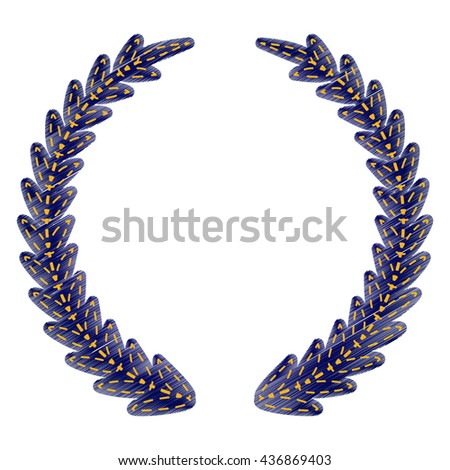 Laurel Wreath sign