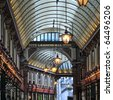 Leadenhall Market - stock photo