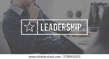 Leader Leadership Authority Management Boss Concept