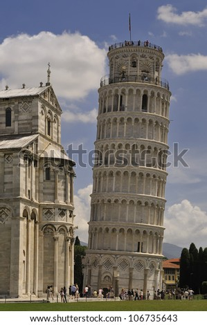 leaning Tower. Pisa, Italy