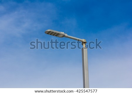 LED street lamps with energy-saving technology