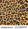 leopard fur as background - stock photo