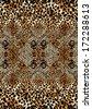Leopard skin print - stock