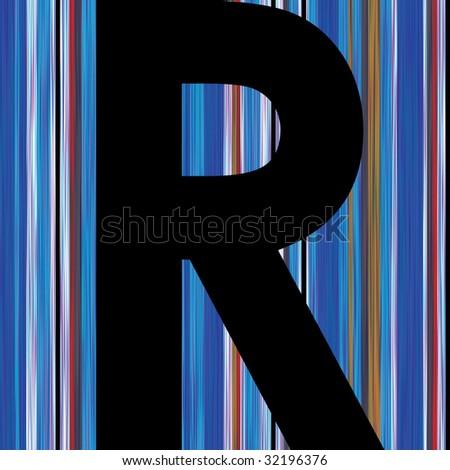 r alphabet design  letter r alphabet symbol design