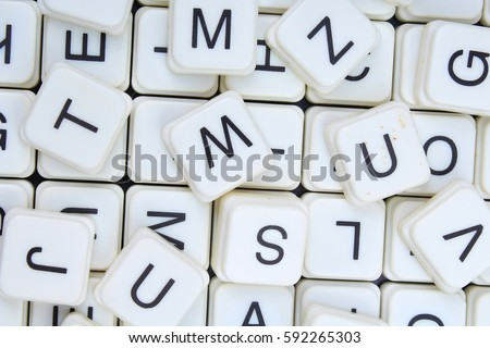 Letters Background3d Block Letters Textureletter Collection Stock