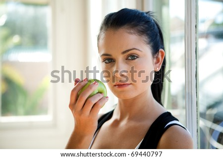 Lifestyle image of a young woman