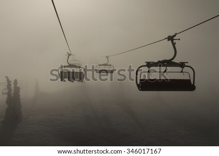 lift in the fog