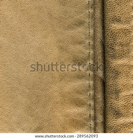 light brown leather background seams stock photo 288085406