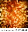 Light festive background. Elegant abstract background with bokeh defocused lights. - stock photo