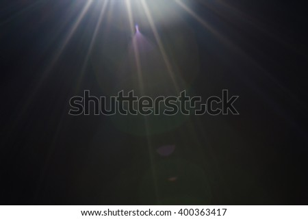 Light flare abstract background