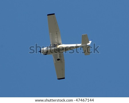 Light private airplane for recreational flying
