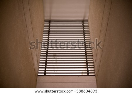 Spanish style shutters old house stock photo 310793918 for Spanish style interior shutters