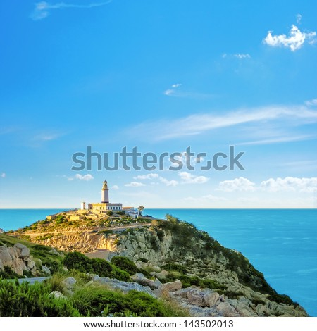 Lighthouse at the Cap de Formentor, Majorca