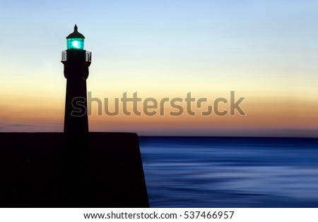 lighthouse in Normandy