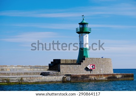 Lighthouse in Sassnitz/Germany