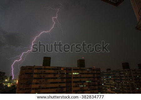 lightning buildings
