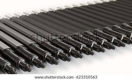 Set Different Concrete Drill Bits Stock Photo 82931326