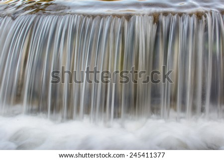 Lines of the Waterfalls