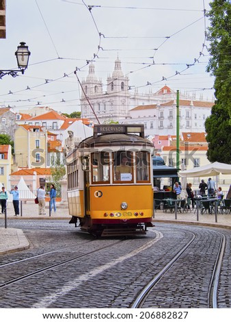 old tram prague street - photo #14