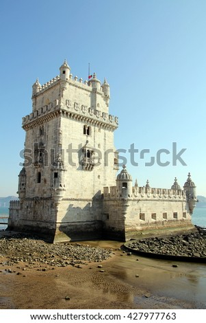 LISBON, PORTUGAL - OCTOBER 5, 2011: Belem Tower (Torre de Belem)
