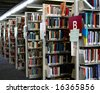 Local library - stock photo