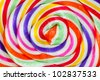 lollipop candy - stock photo