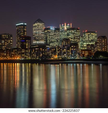 Hoboken Terminal Jersey City Skyline New Stock Photo