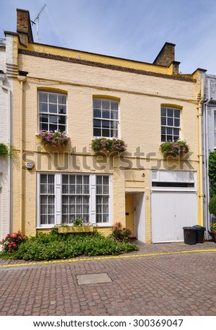 london july 18 2015 mews housing stock photo 300369011 shutterstock. Black Bedroom Furniture Sets. Home Design Ideas