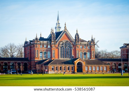 LONDON UK - MAY 15, 2016: Dulwich College in south of London.