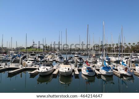 Dana point harbor stock photo 32339071 shutterstock for Dana point pier fishing