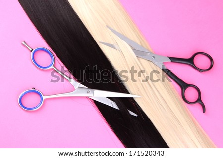 how to cut black hair with scissors