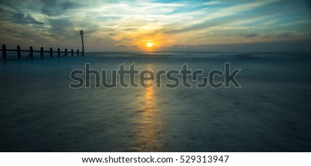 Long Exposure of sea scape