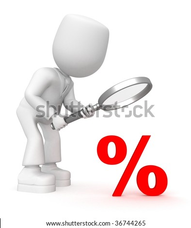 look into percent