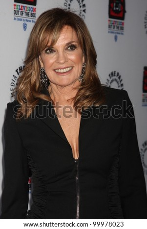 "LOS ANGELES - APR 12:  Linda Gray arrives at Warner Brothers ""Television: Out of the Box"" Exhibit Launch at Paley Center for Media on April 12, 2012 in Beverly Hills, CA"