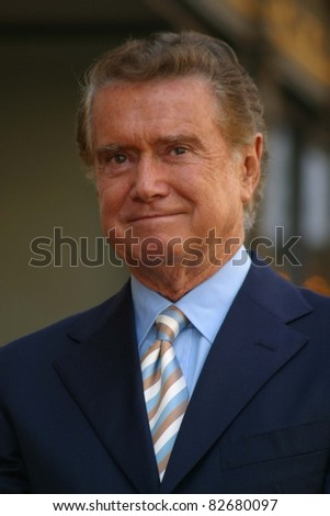 LOS ANGELES - APR 10: Regis Philbin at a ceremony where Regis Philbin receives the 2222th star in Los Angeles, California on April 10, 2003