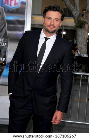 "LOS ANGELES - APR 7:  Tom Welling at the ""Draft Day"" Premiere at Village Theater on April 7, 2014 in Westwood, CA"