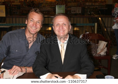 LOS ANGELES - AUG 18:  Doug Davidson, Michael Maloney at the book signing for William Bell Biography at Barnes & Noble on August 18, 2012 in Ventura, CA