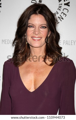 "LOS ANGELES - AUG 23:  Michelle Stafford arrives at ""The Young & Restless"": Celebrating 10,000 Episodes at Paley Center for Media on August 23, 2012 in Beverly Hills, CA"